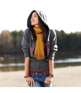Huron Fleece Full Zip Hoody - Womens