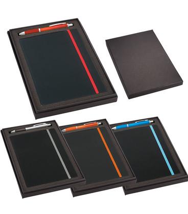 JournalBook Gift Set with JB1001 Journal & SM-4101 Nash Pen