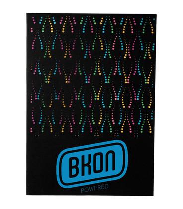 Laser Pattern Notebook