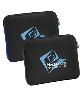 Neoprene Zippered Tablet Sleeve