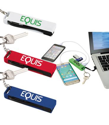 3-in-1 USB Hub Key Chain