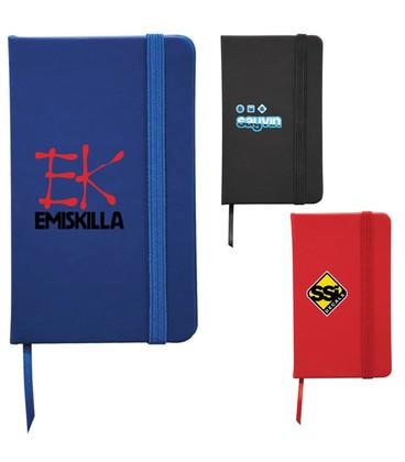 """3"""" x 5"""" Snap Elastic Closure Notebook"""