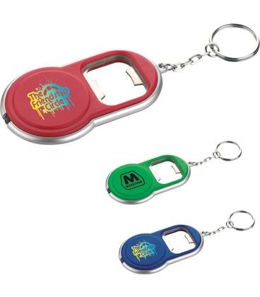 Round LED Key-Light / Bottle Opener