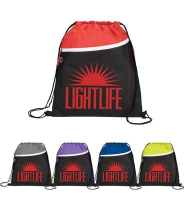 Slant Front Pocket Drawstring Sportspack