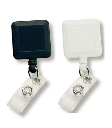 Square Retractable Badge Holder