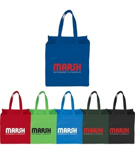 Squared Away 100g Non-Woven Tote