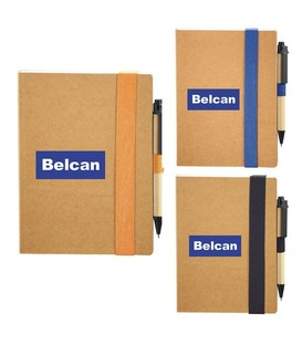 The Eco Perfect Bound Notebook with Pen