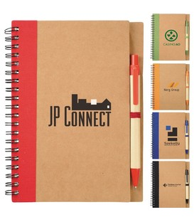 The Eco Spiral Notebook with Pen
