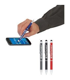 The Iris Multi-Ink Metal Pen-Stylus