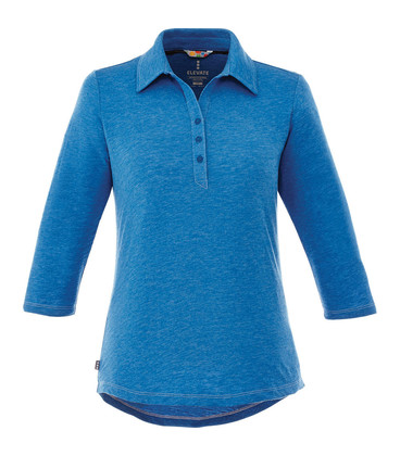 Tipton Three Qtr Sleeve Polo - Womens