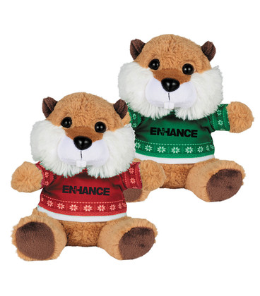 """Ugly Sweater 6"""" Beaver"""
