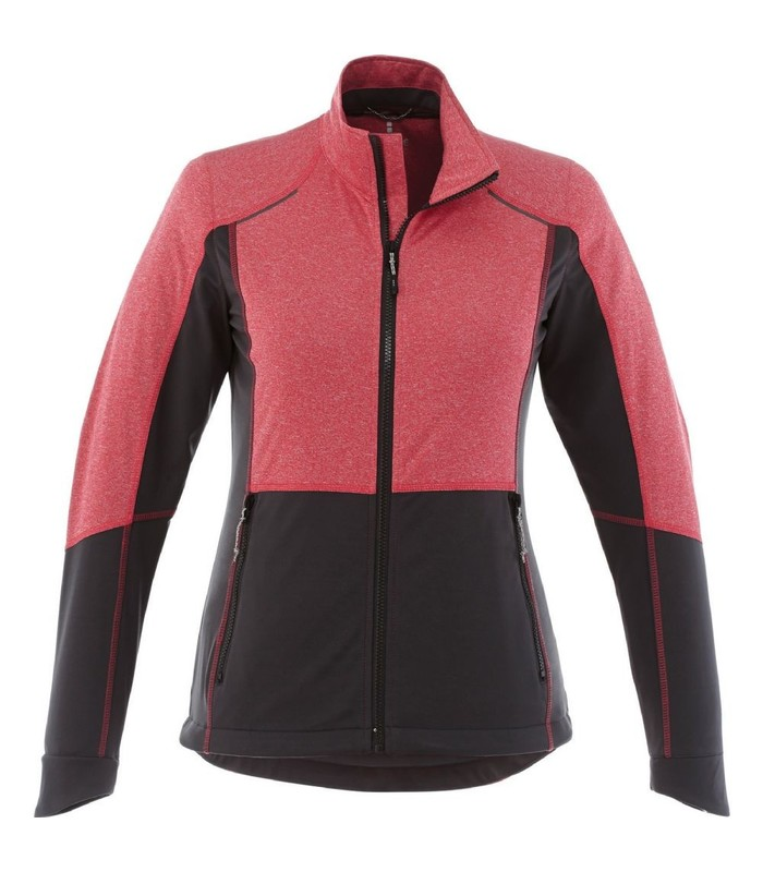 Elevate Women's Black Maxon Softshell Jacket