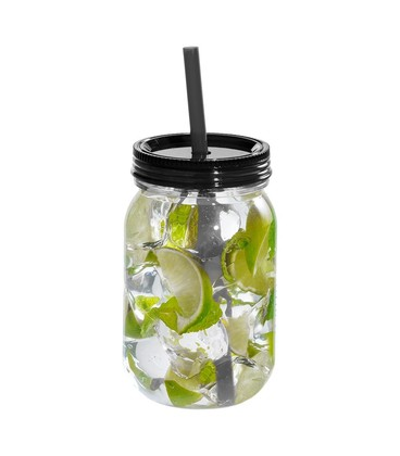 Binx Mason Jar in Black