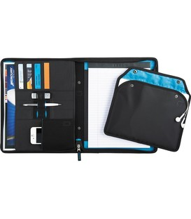 Zoom® 2-In-1 Tech Sleeve Zip Padfolio
