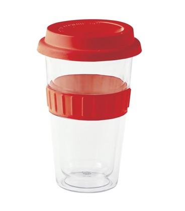 Plastic Double-walled Mug