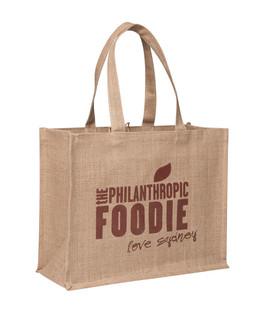 Starched Jute Supermarket Bag