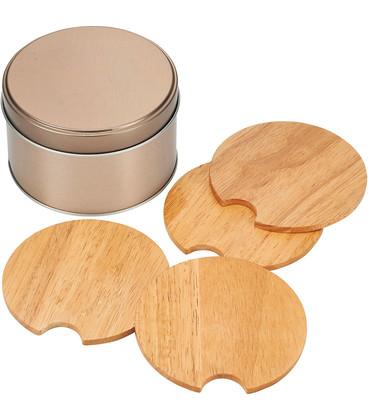Bullware Wood Coaster Sets