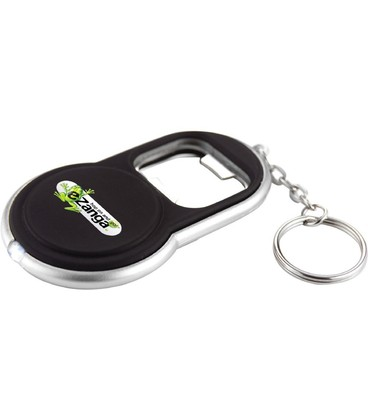 Circle Bottle Opener Keylight