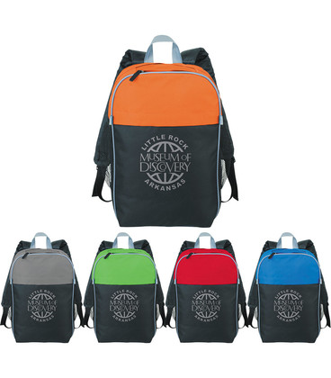 """Color Top 15"""" Computer Backpack"""