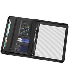A4 Phoenix Zippered Compendium with Solar Calculator