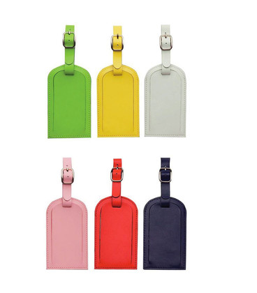 Coloured Luggage Tag