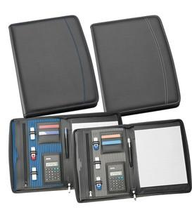 A4 Zippered Compendium with Calculator