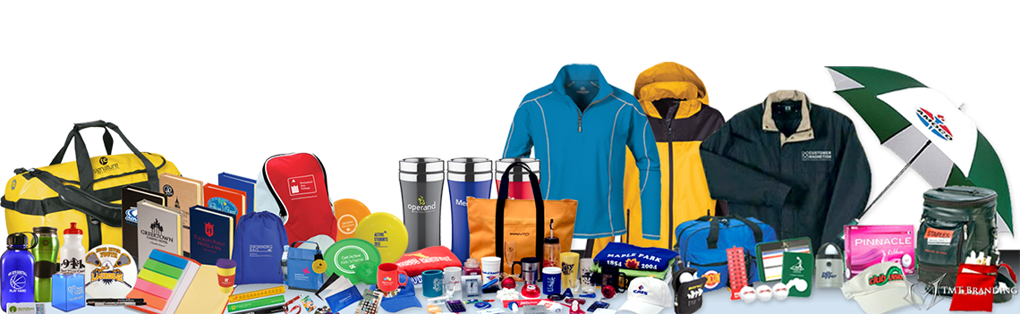 We Print Your Logo or Design on Hundreds of Promotional Items